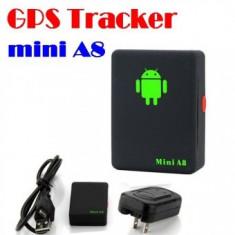 Microfon spion de urmarire mini A8 GPS/GSM/GPRS Global Tracker