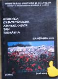 Cronica cercetarilor arheologice campania 2003