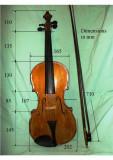 Vioara copie Guarneri expertiza Gh.Barbulescu,arcus, cutie, stare excelenta