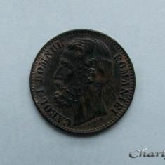 ROMANIA - 2 Bani 1880 - Carol I - Moneda Romania