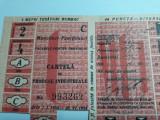 TICHET CARTELA DE PRODUSE INDUSTRIALE - ANUL 1954 - 5 M TESATURA BUMBAC