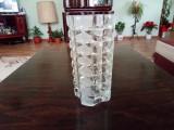 Vaza mare de cristal sau semicristal marcaj Franta