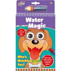 Carte de Colorat Water Magic - Ghici cine-i acolo?