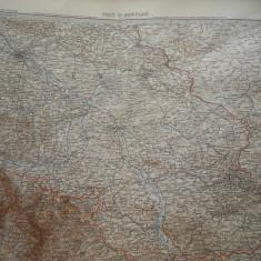 HOPCT DOCUMENT-HARTA VECHE NR 9  -GERMANIA DEUTSCHEN REICHS GOTHA D=490/405 MM