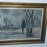IOSIF STEURER, Peisaje, Ulei, Altul