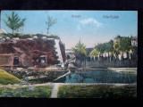 ADA KALEH - RUINELE - STAMPILA CENZURA ORSOVA 1944, Circulata, Fotografie