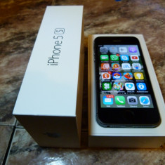 iPhone 5S Apple 16GB Gri, Neblocat