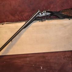 Valiza antica / cutie veche, de colectie, pt expunere / pastrare arme