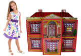 Casa pentru papusi Vila cu mobilier