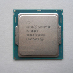 Procesor Intel Skylake, Core i5 6600K 3.5GHz Socket 1151. - Procesor PC Intel, Intel Core i5, Numar nuclee: 4, Peste 3.0 GHz