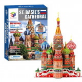 Puzzle 3D catedrala St. Basil's 213 piese