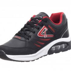 Pantofi Sport Tip Jordan Black-Red - Adidasi barbati