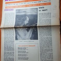 """Ziarul saptamana 12 august 1977-art. """" efervescenta"""" de corneliu vadim tudor"""