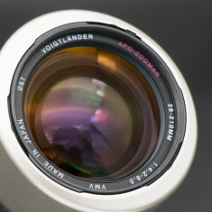 Obiectiv AF Voigtlander Apo Zoomar VMV 28-210 f4.2-6.5 Canon EF - Obiectiv DSLR Voigtlander, All around, Autofocus, Canon - EF/EF-S