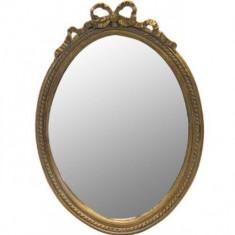 Oglinda de perete rasina Antique Gold 37x51cm - Oglinda hol