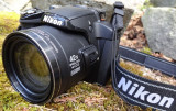 Nikon Coolpix p510 16MP ZOOM OPTIC 42x  Video FULL HD + card 8GB + husa