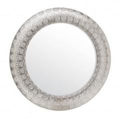 Oglinda Argintie diametru 60 cm - Oglinda hol