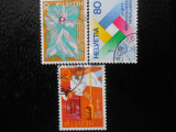 ELVATIA-SERIE COMPLETA-STAMPILATE, Stampilat