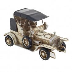Masina Antique Black-Cream 16x6x10 - Macheta auto