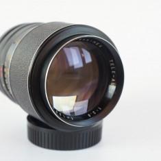 Obiectiv manual pt portret Hanimex 135mm 2.8 montura M42, adaptabil digital - Obiectiv DSLR Canon, Tele