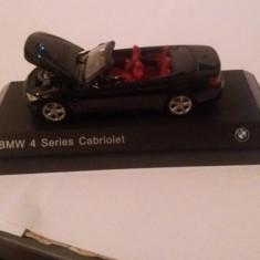 Macheta bmw seria 4 (f33 ) cabriolet 2013 -Iscale, 1/43, dealer edition. - Macheta auto