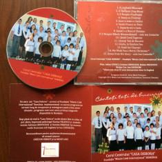 Corul centrului casa debora cantati toti de bucurie cd disc muzica cor sarbatori - Muzica Sarbatori