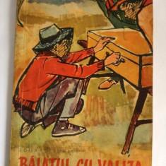 Baiatul cu valiza, Eduard Jurist. Ilustratii de Iurie Darie, ED TINERETULUI 1961 - Carte de povesti