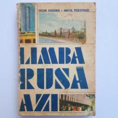 LIMBA RUSA AZI = VICTOR VASCENCO