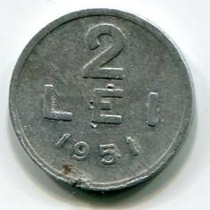 2 lei 1951, RPR - Moneda Romania