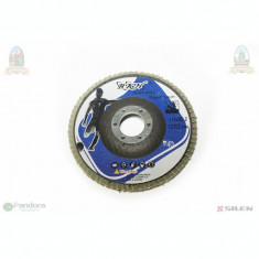 Panza - Disc Flex flap albastru #115*22.2mm P40