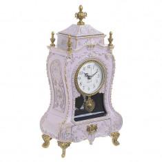 Ceas muzical Antique Pink 32 cm