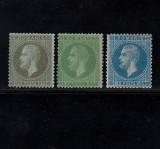 CAROL I PARIS 1872 - 1,5 BANI , 3 BANI , 10 BANI NECIRCULATE, Nestampilat