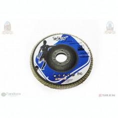 Panza - Disc Flex flap albastru #125*22.2mm P40