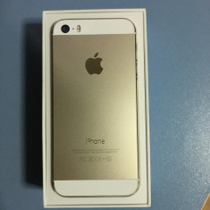 Vând iPhone 5S Apple Gold 16GB, Auriu, Neblocat
