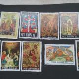 Romania 1991-1996,1999-Pasti.1991-1995,1999-Craciun,nestampilate., Nestampilat