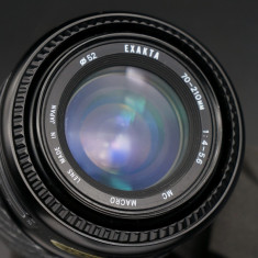 Obiectiv autofocus Exakta MC 70-210mm f4-5.6 Macro montura Canon EF - Obiectiv DSLR Canon, Tele, Canon - EF/EF-S