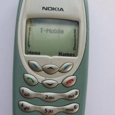 Nokia 3410 folosit dar in stare excelenta - Telefon Nokia, Verde, <1GB, Neblocat, Fara procesor, Nu se aplica