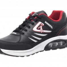 Pantofi Sport Tip Jordan Black-white - Adidasi barbati