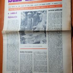 ziarul saptamana 21 iulie 1978-art. o rodnica diplomatie de corneliu vadim tudor