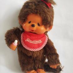 Monchhichi (kiki, Moncici) Sekiguchi, maimutica maimuta jucarie plus 20 cm - Jucarii plus