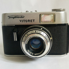 Aparat foto Voigtlander Vitoret Color Lanthar  f2.8/50mm pe film