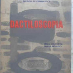 Dactiloscopia (criminalistica) - Ion R. Constantin, M. Radulescu, 411865 - Carte Drept penal