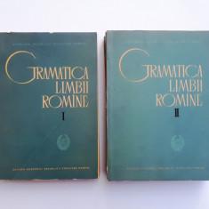 GRAMATICA LIMBII ROMANE = EDITURA ACADEMIEI = AN 1963 = 2 VOLUME - Culegere Romana