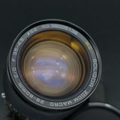 Obiectiv Soligor 28-80mm f3.5-4.5 Macro montura Contax/Yashica - Obiectiv DSLR Sony, All around
