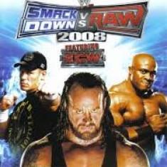WWE Smack Down vs RAW 2008 featuring ECW - Nintendo Wii [Second hand] - Jocuri WII, Sporturi, 16+, Multiplayer