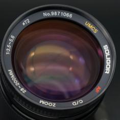 Obiectiv AF Soligor UMSC 28-20mm 3.5-5.6 montura Sony A, perfect - Obiectiv DSLR Sony, All around, Autofocus