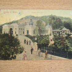 CAB9 - CARTE POSTALA FOARTE VECHE - AUSTRIA - VIENA - CIRCULATA LA 1907, Fotografie, Franta