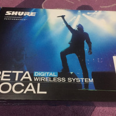 Microfon Shure Incorporated shure beta 58a supercardioid