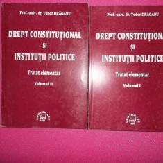 DREPT CONSTITUTIONAL SI INSTITUTII POLITICE/ Tratat elementar - Carte Drept constitutional