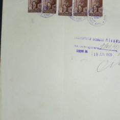 E9 COALA FISCALA 100 LEI VERDE 1938 - Timbre Romania, Stampilat